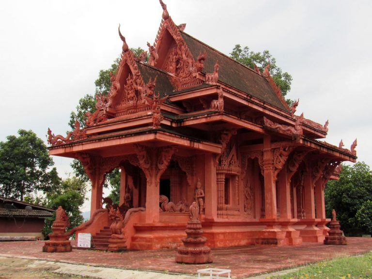Temple of Strength Ngu - Red Temple