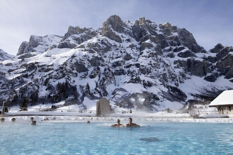 Leukerbad - Switzerland's ski resort with thermal springs