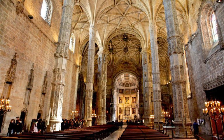 In the Jeronimos Monastery