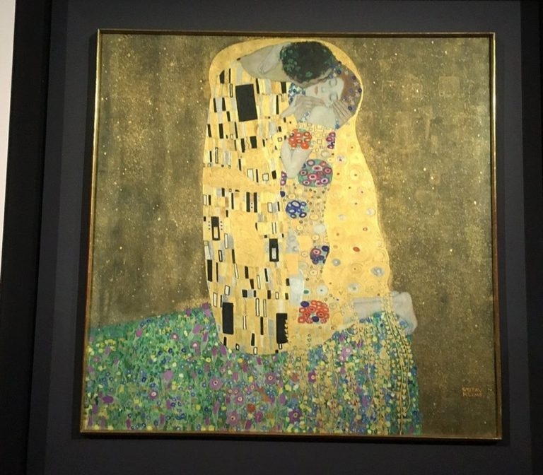 Kiss, Gustav Klimt