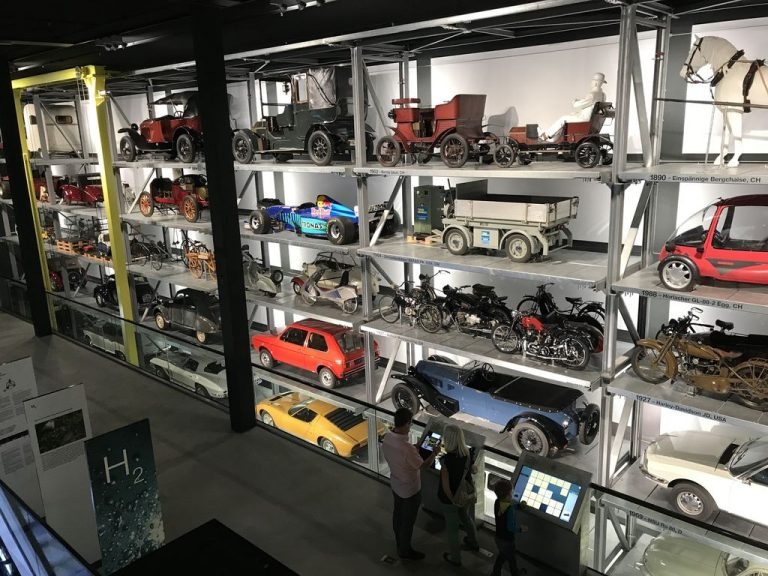 At the Museum of Transport, Lucerne