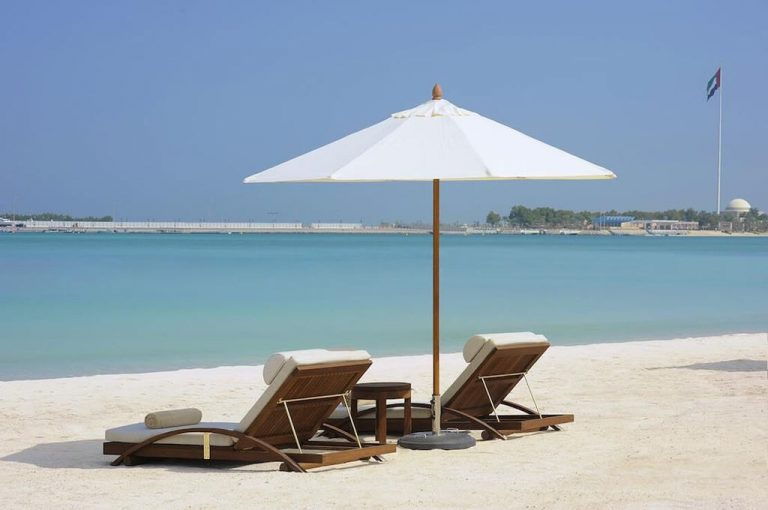 The st  Regis Abu Dhabi with private beach
