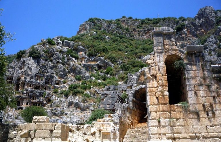 The ancient city of Demre Mira