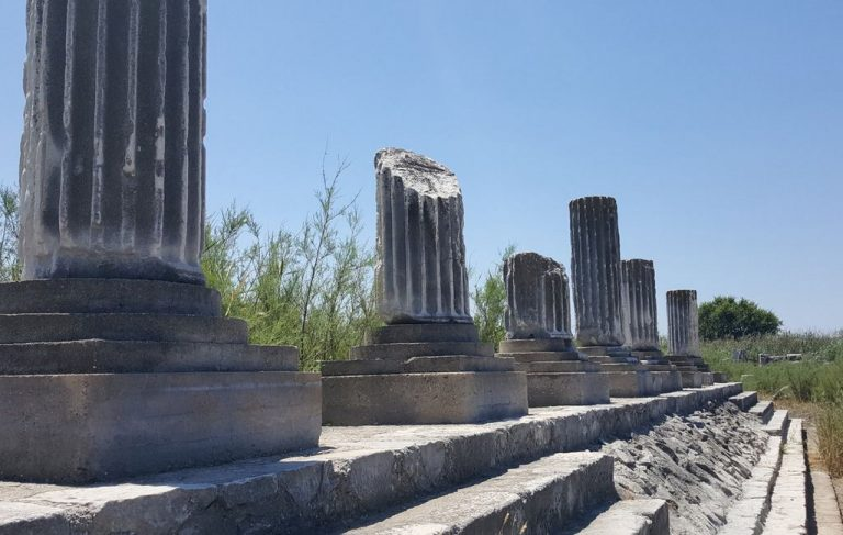 Ruins of the city of Miletus