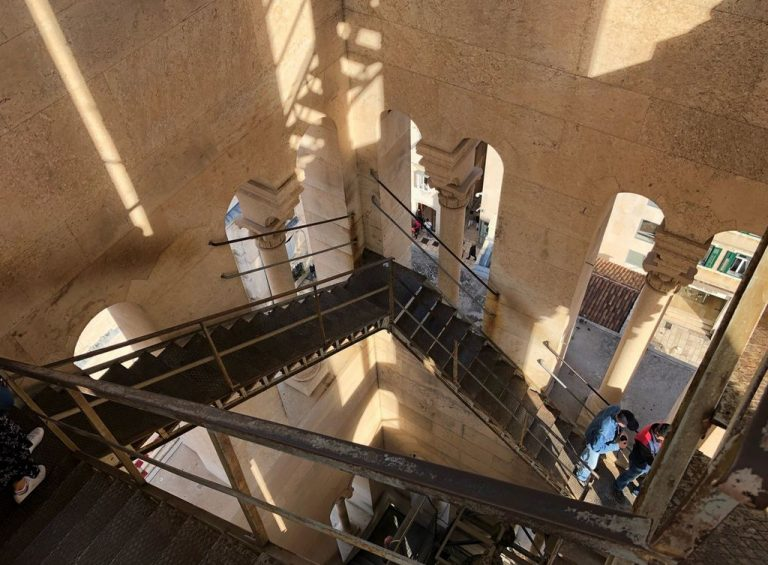 Ascent to the bell tower of the Cathedral