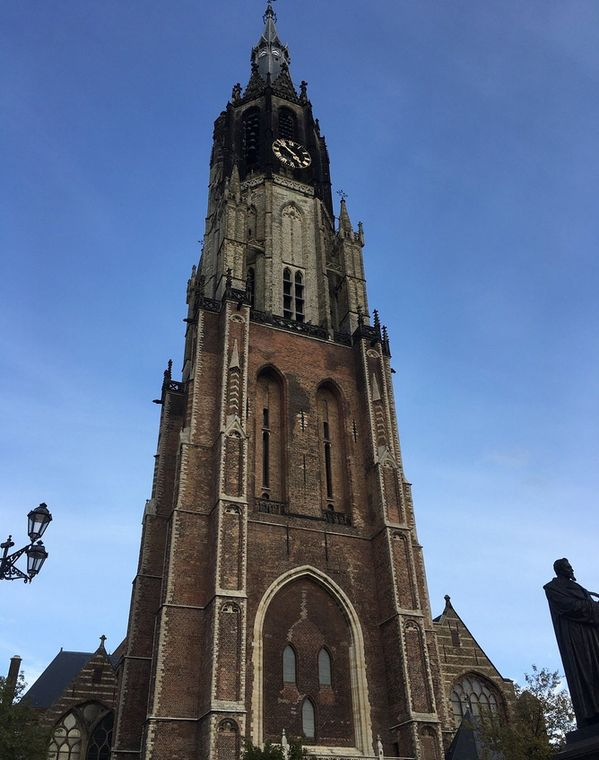 The bell tower of the church of Nieuwe Kerk
