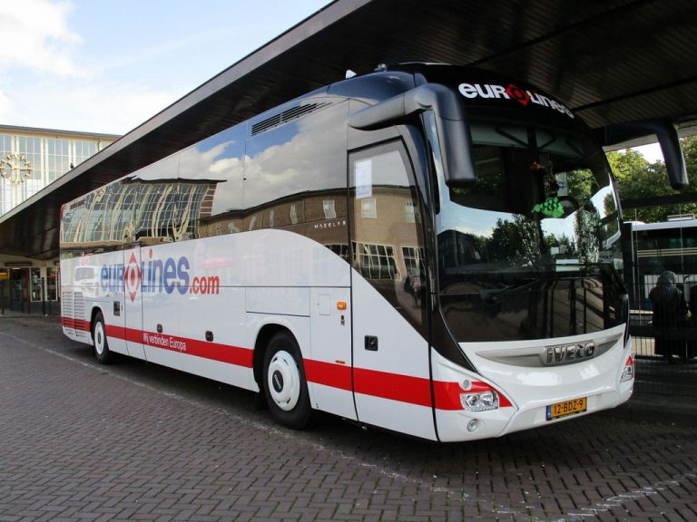 Eurolines Bus to The Hague
