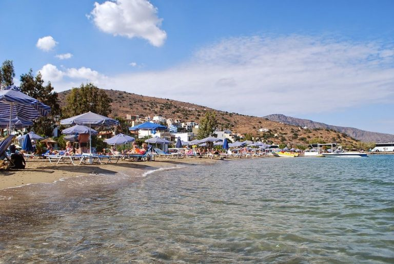 Central Beach in Elounda