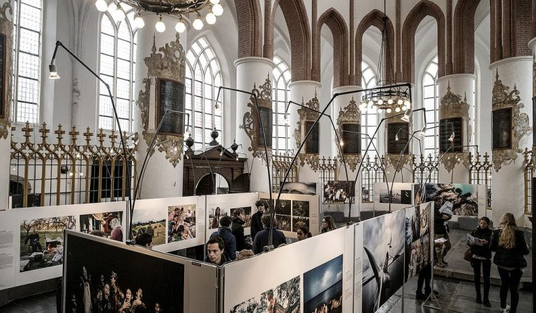 Exhibition in the church Der Aa-kerk