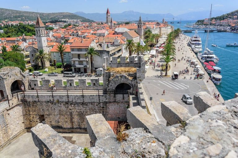 The historic center of Trogir