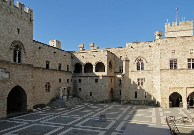 Knights Fortress Courtyard, Rhodes