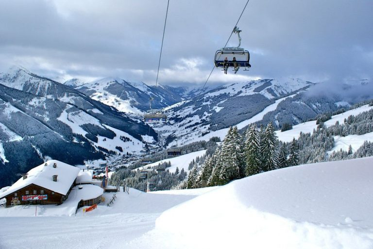 Ski Lift in Saalbach