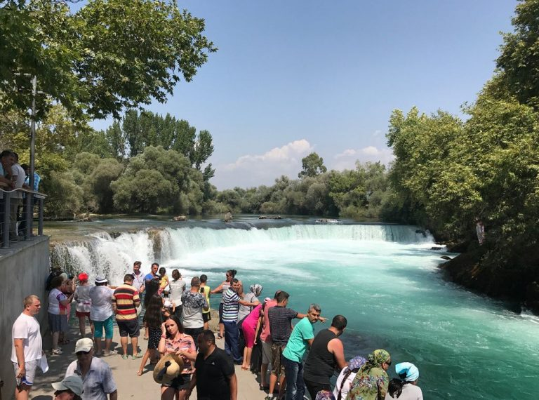 Observation deck near Manavgat waterfall