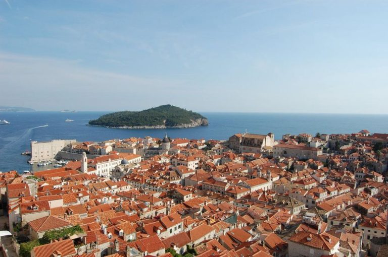 Old part of the city of Dubrovnik