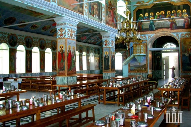 The refectory of the monastery of St. Panteleimon