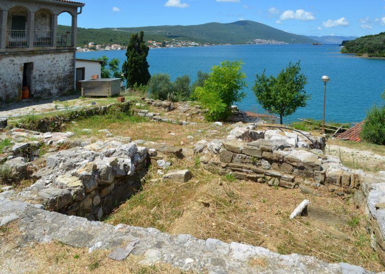 The ruins of the monastery of St. Michael the Archangel