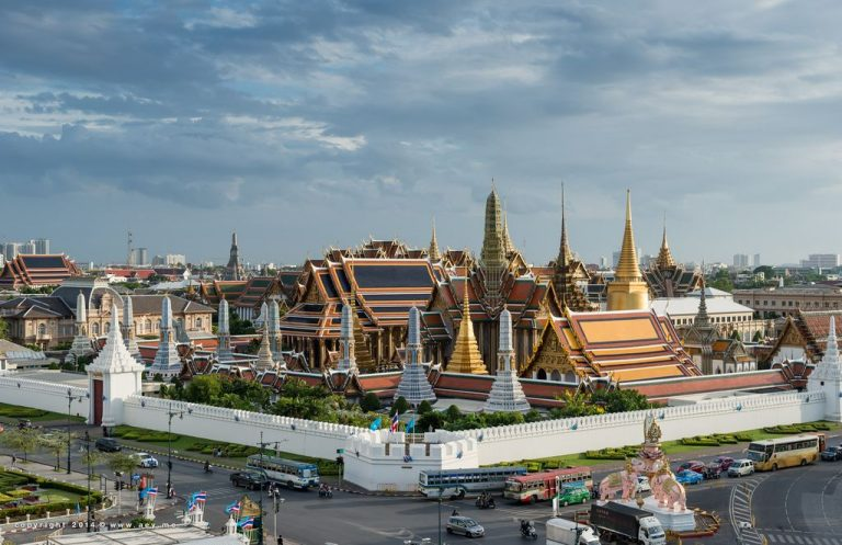 Grand Royal Palace in Bangkok