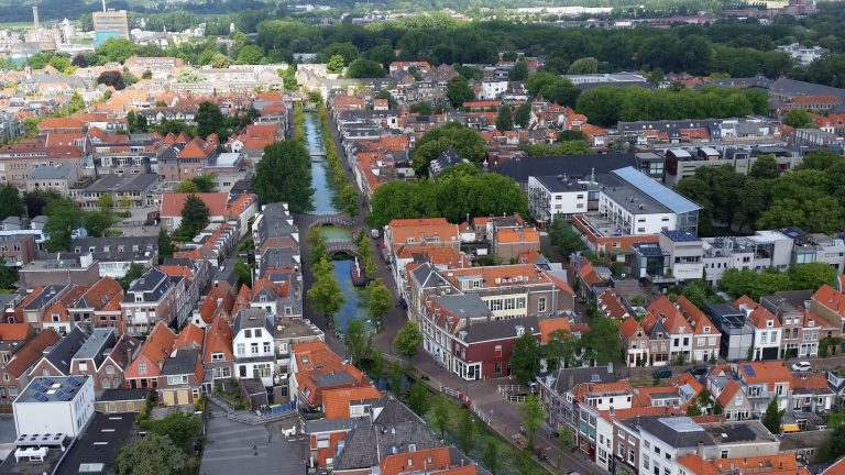View from the bell tower of Nieuwe Kerk