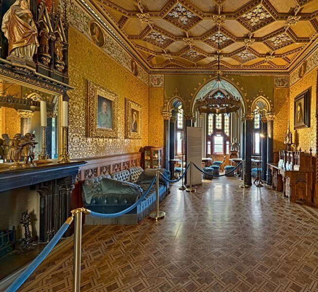 Golden Hall in Hohenzollern Castle
