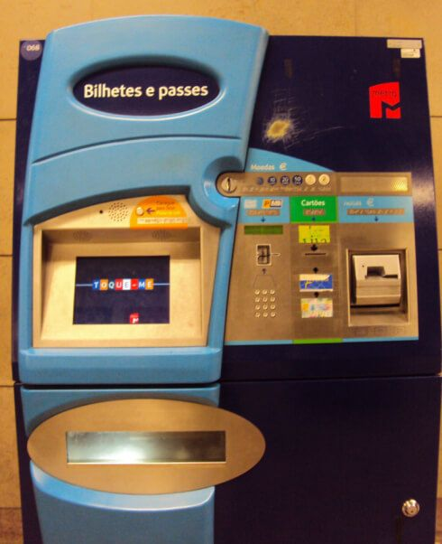 Subway Ticket Machine