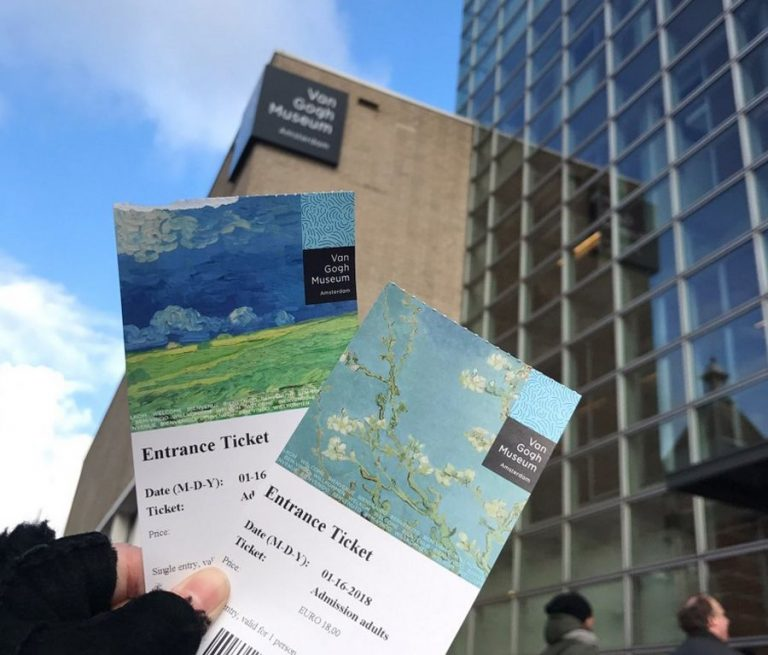 Tickets for the Van Gogh Museum