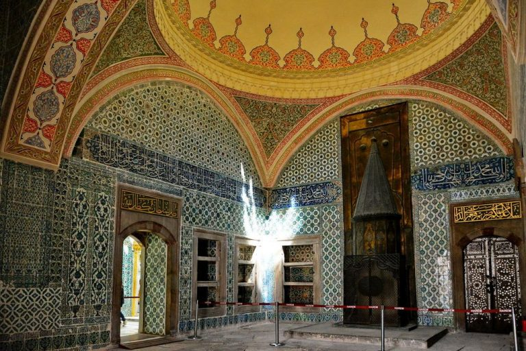 Museum decoration is replete with skillful mosaics