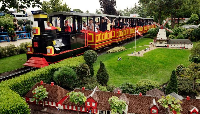 LEGO train in Legoland