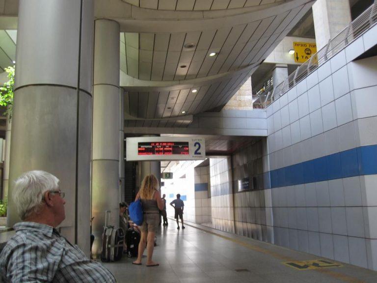 Railway station at Ben Gurion Airport