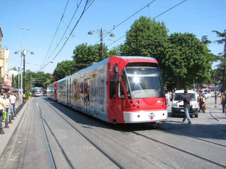 You can get there by tram on the T1 line