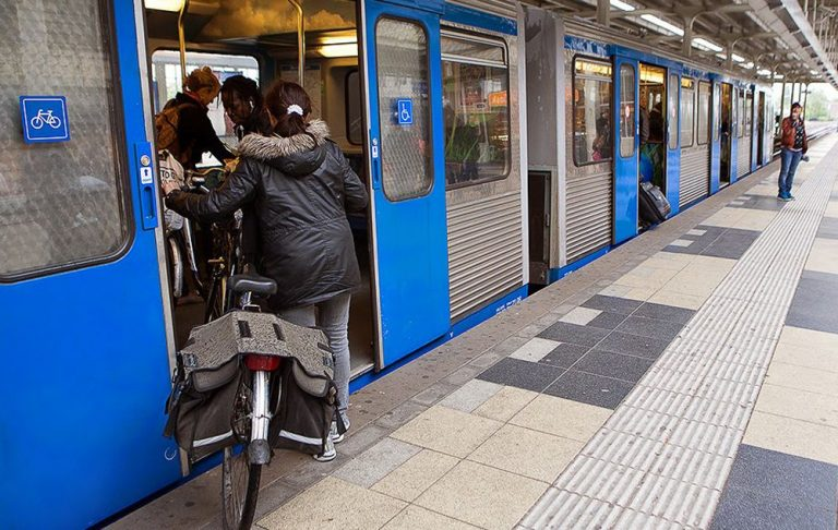 Bicycle transportation in public transport