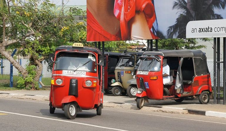 You can use the services of tuk-tuk