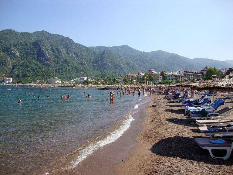 Icmeler Beach, Turkey
