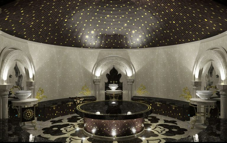 For spa treatments in the hammam