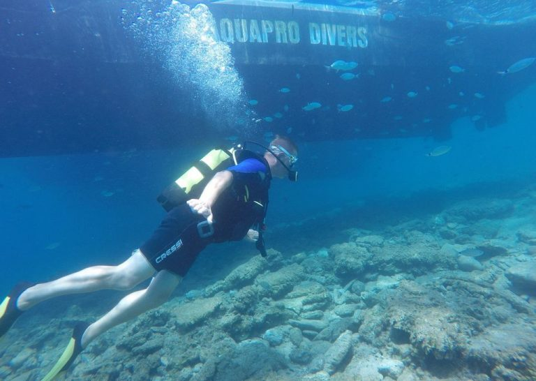 Diving with Aquapro Dive Center