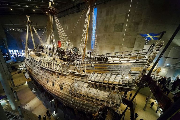 The largest ship of the 17th century in the Vasa Museum