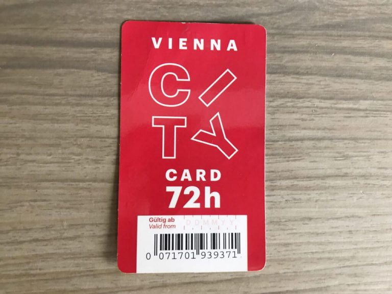 Red Vienna City Card