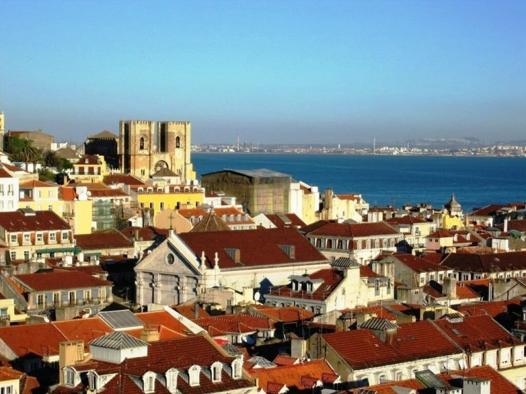 City of Nazare, Portugal