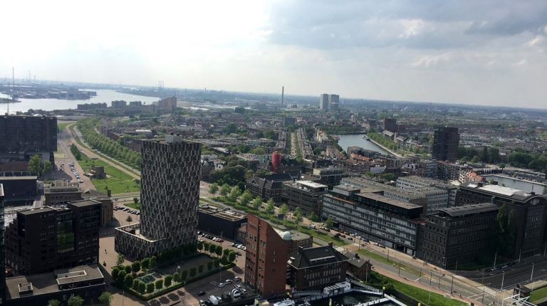 View from the Euromast
