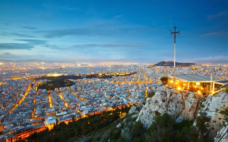 Photo: view from Mount Lycabettus