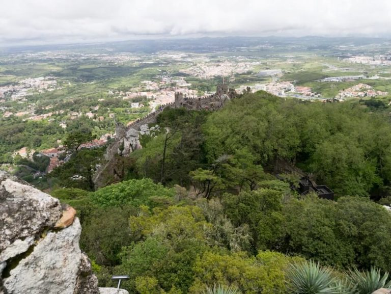 Sintra panoramic view