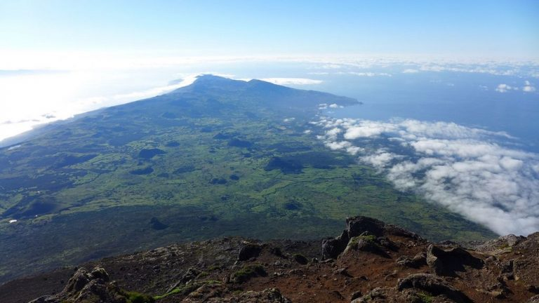 View from the top of Mount Pico