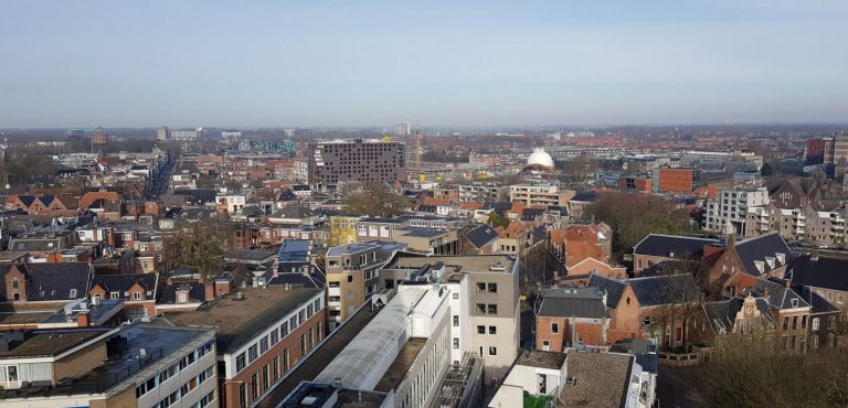 View from the Martinitoren tower