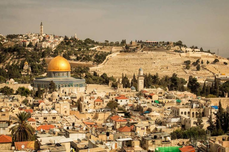 Excursion to the Mount of Olives