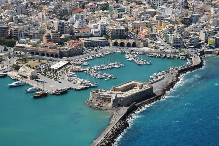Kules fortress in the port of Heraklion
