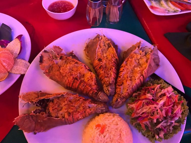There is a huge selection of restaurants on Volkin Street in Pattaya