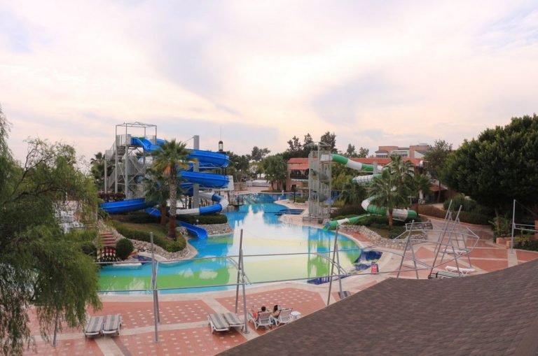 Waterpark on the territory of Limak Limra Hotel & Resort