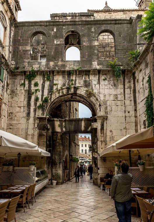 Iron Gate of Diocletian's Palace