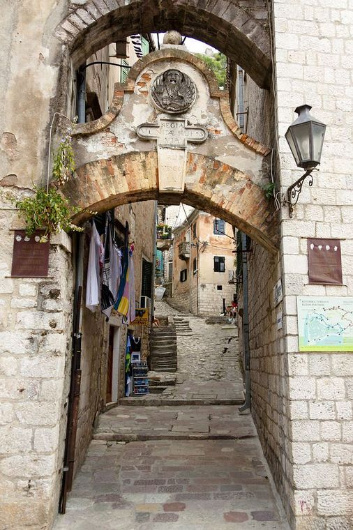 Photo: one of the streets of Kotor