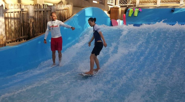 Wave Pools - Wipeout and Riptide Flowriders