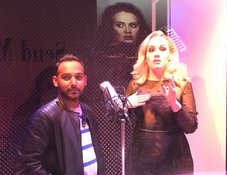 You can sing a duet with singer Adele